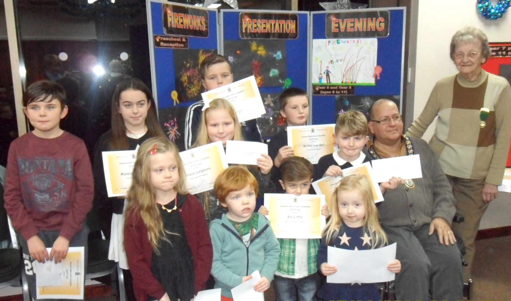 Firework Poster Competition Winners