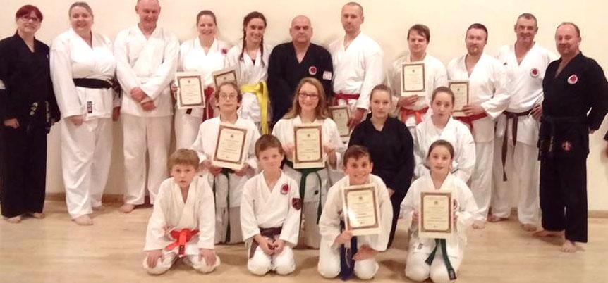 Karate Gradings at Woodham