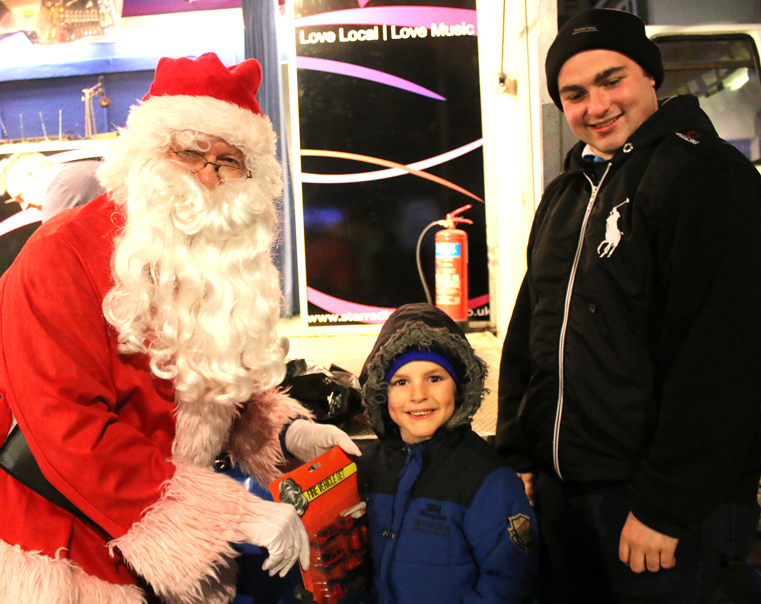 Santa Will Come to Aycliffe This Year