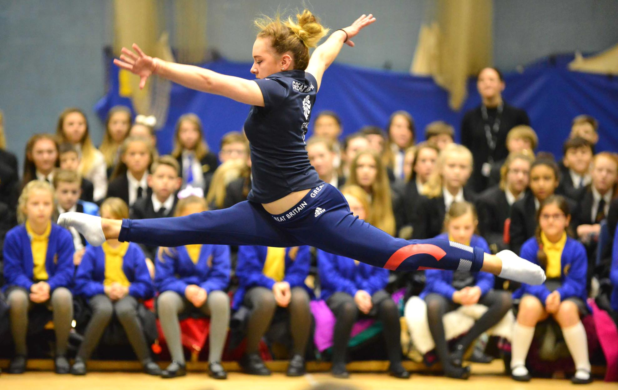Aycliffe Students Hear the Amy Tinkler Story