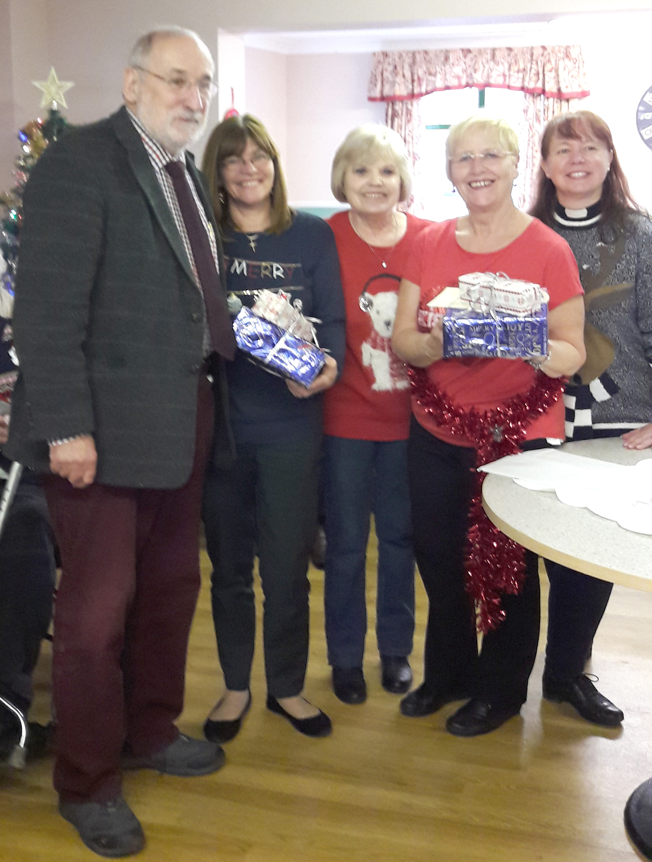 St. Clare's Christmas Services in Care Homes