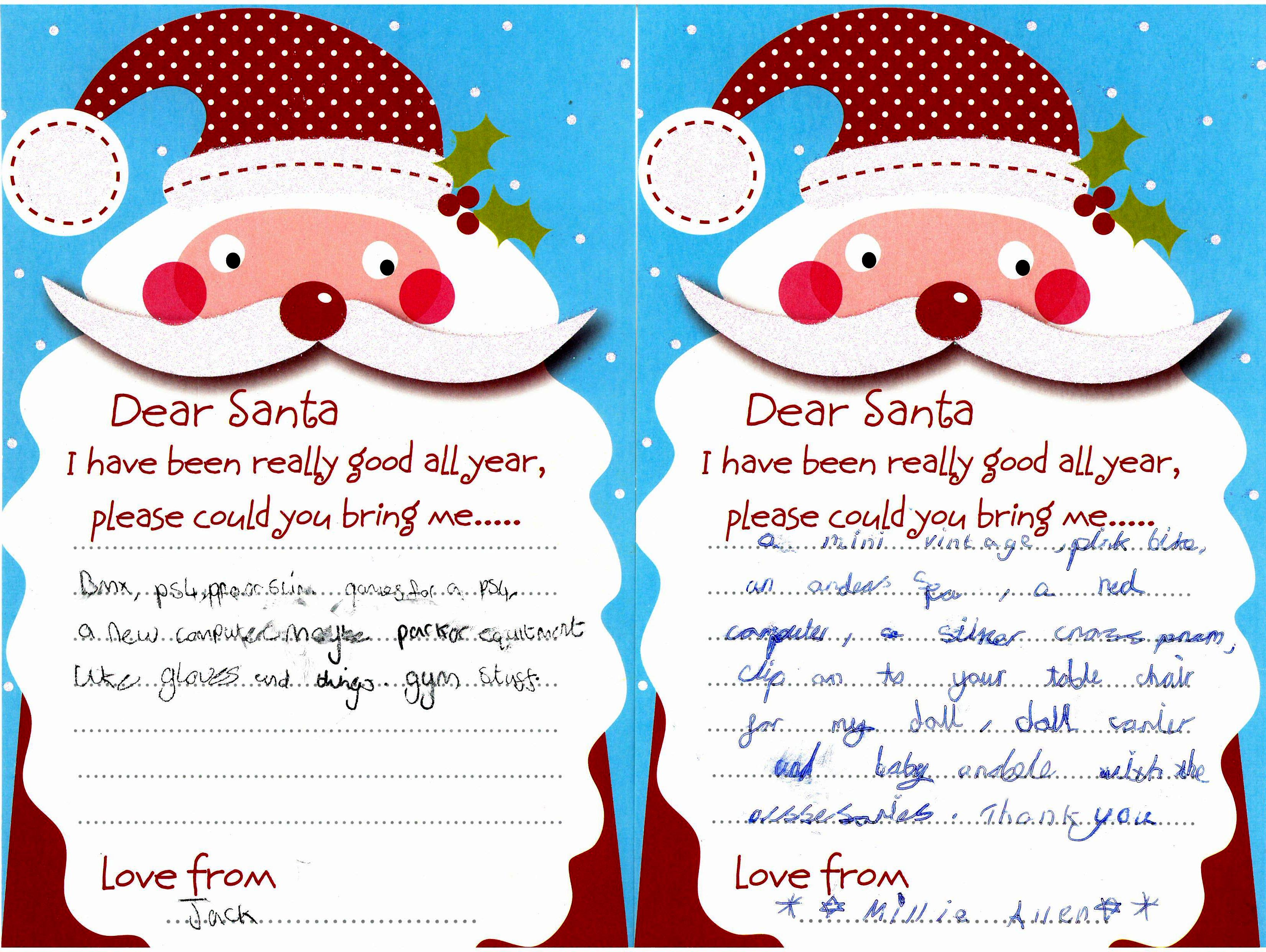 Children Forget Address on Letters to Santa