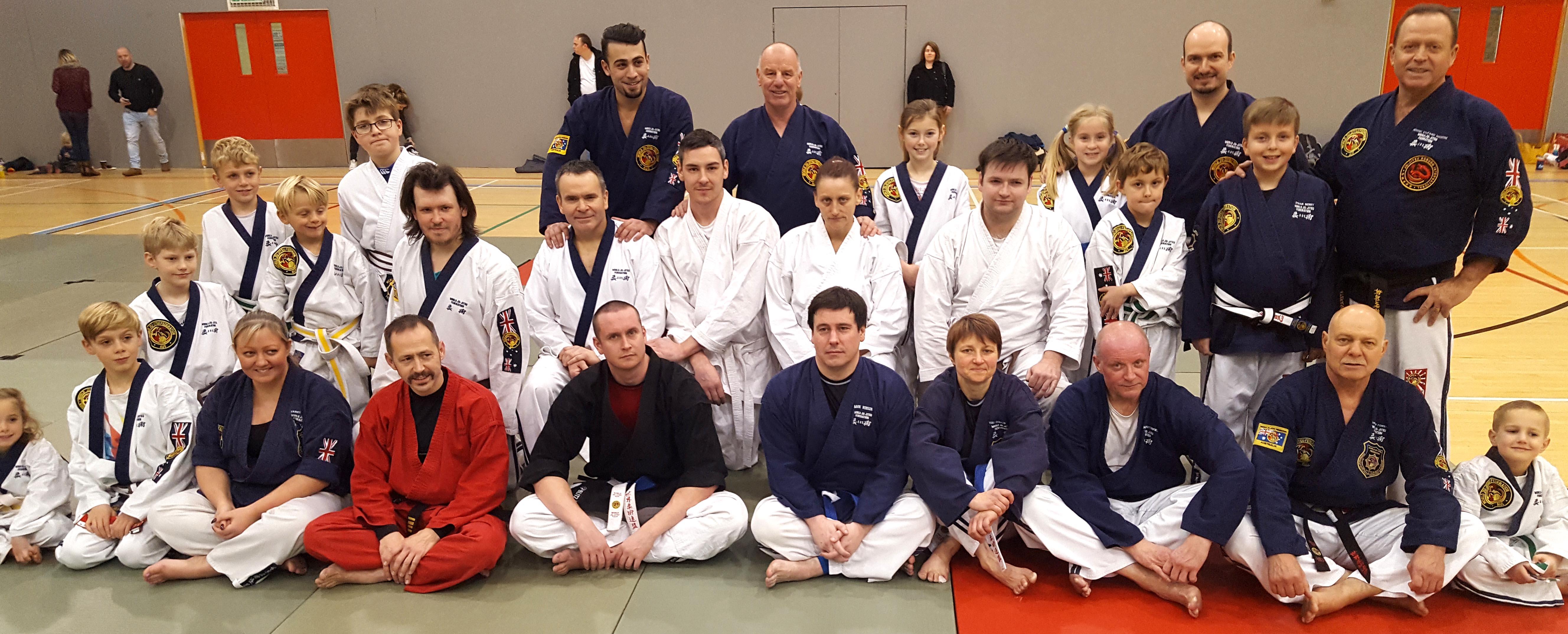 Aycliffe Ju-Jitsu Club Thrives