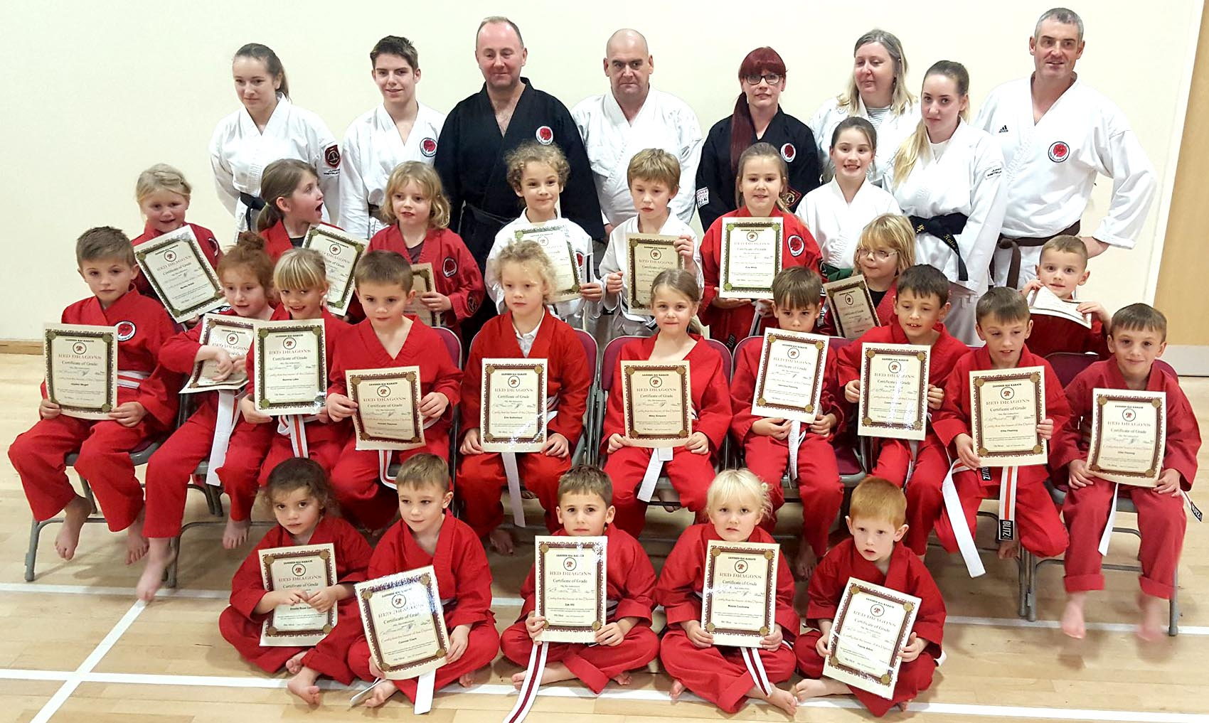 Aycliffe Karate Kids Grade
