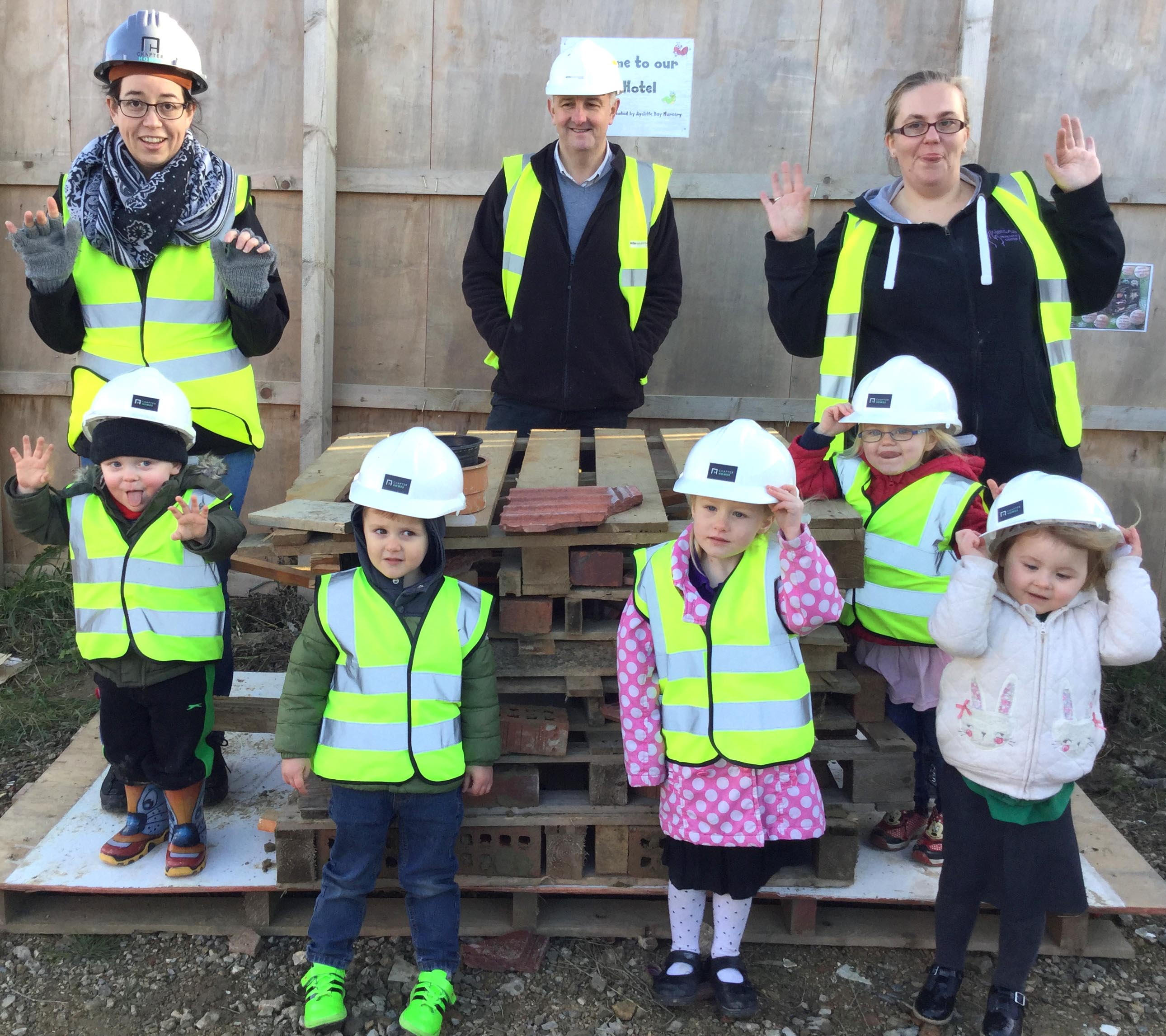 Chapter Homes Harnesses 'Toddler Power'!