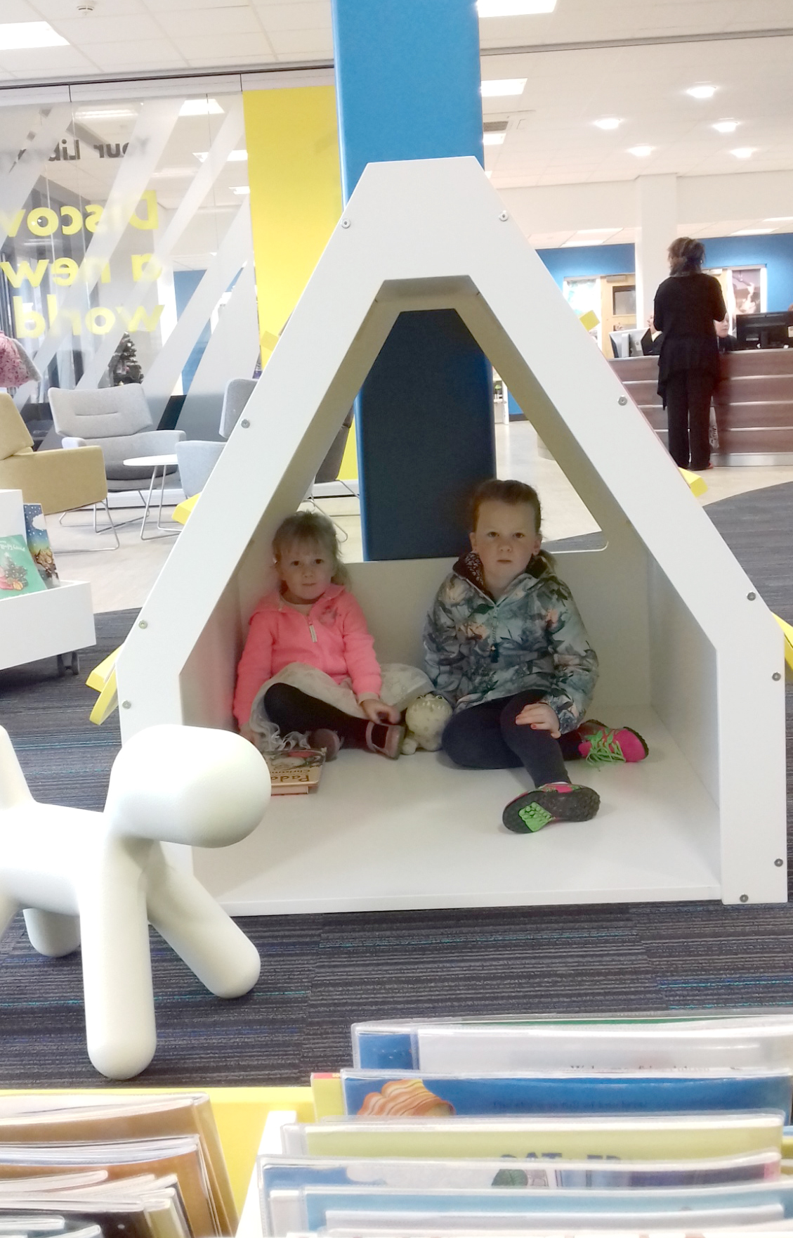 Newton Aycliffe Library Reopens in Leisure Centre