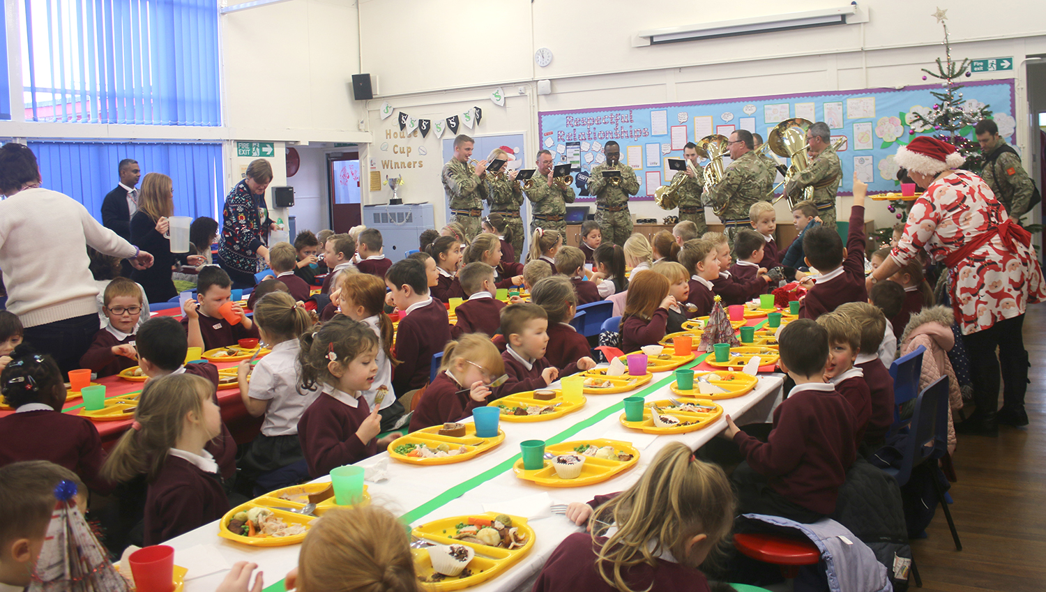 Army to the Rescue when Xmas Dinner was Cancelled