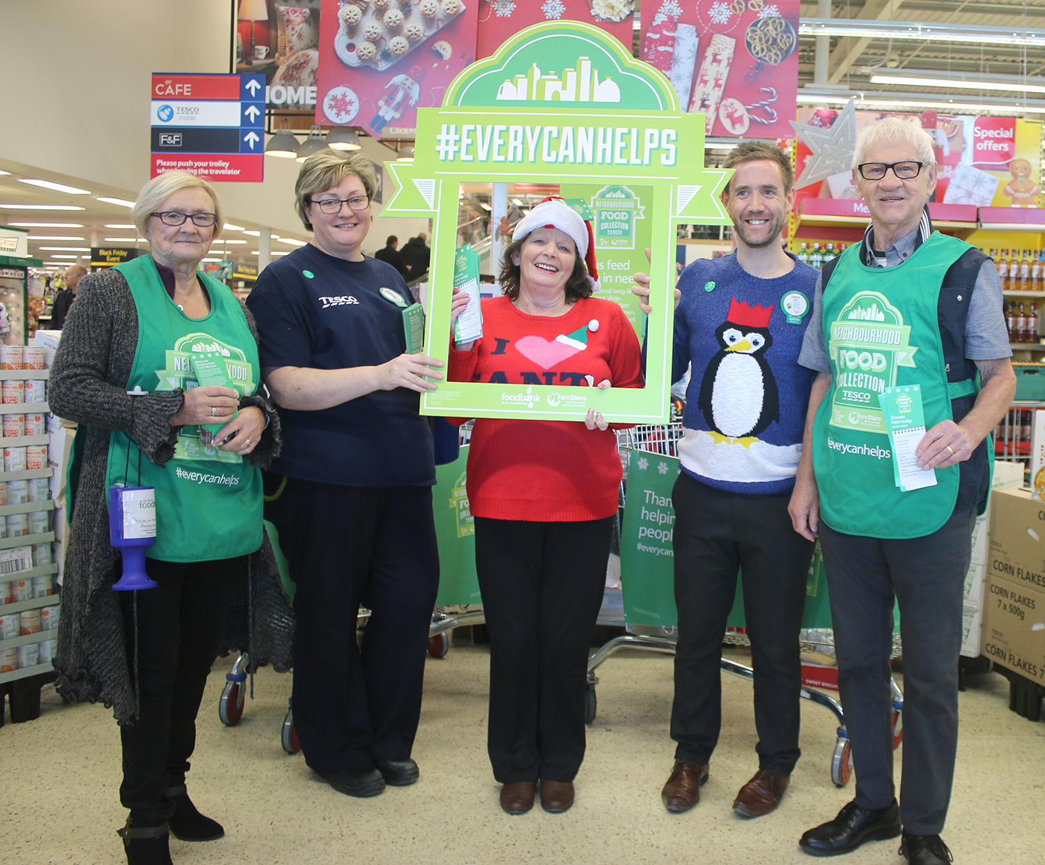 Great Result for Town's Foodbank Collection