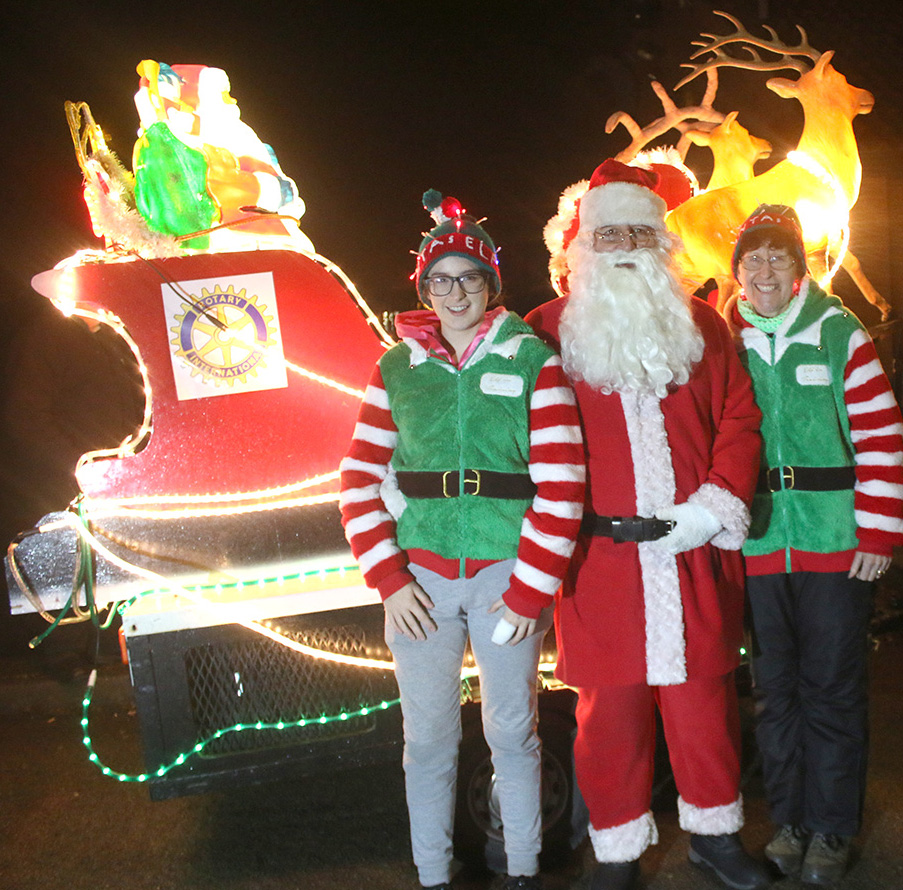 Rotary Club Xmas Collection