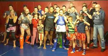 Aycliffe Thai Boxers Impress