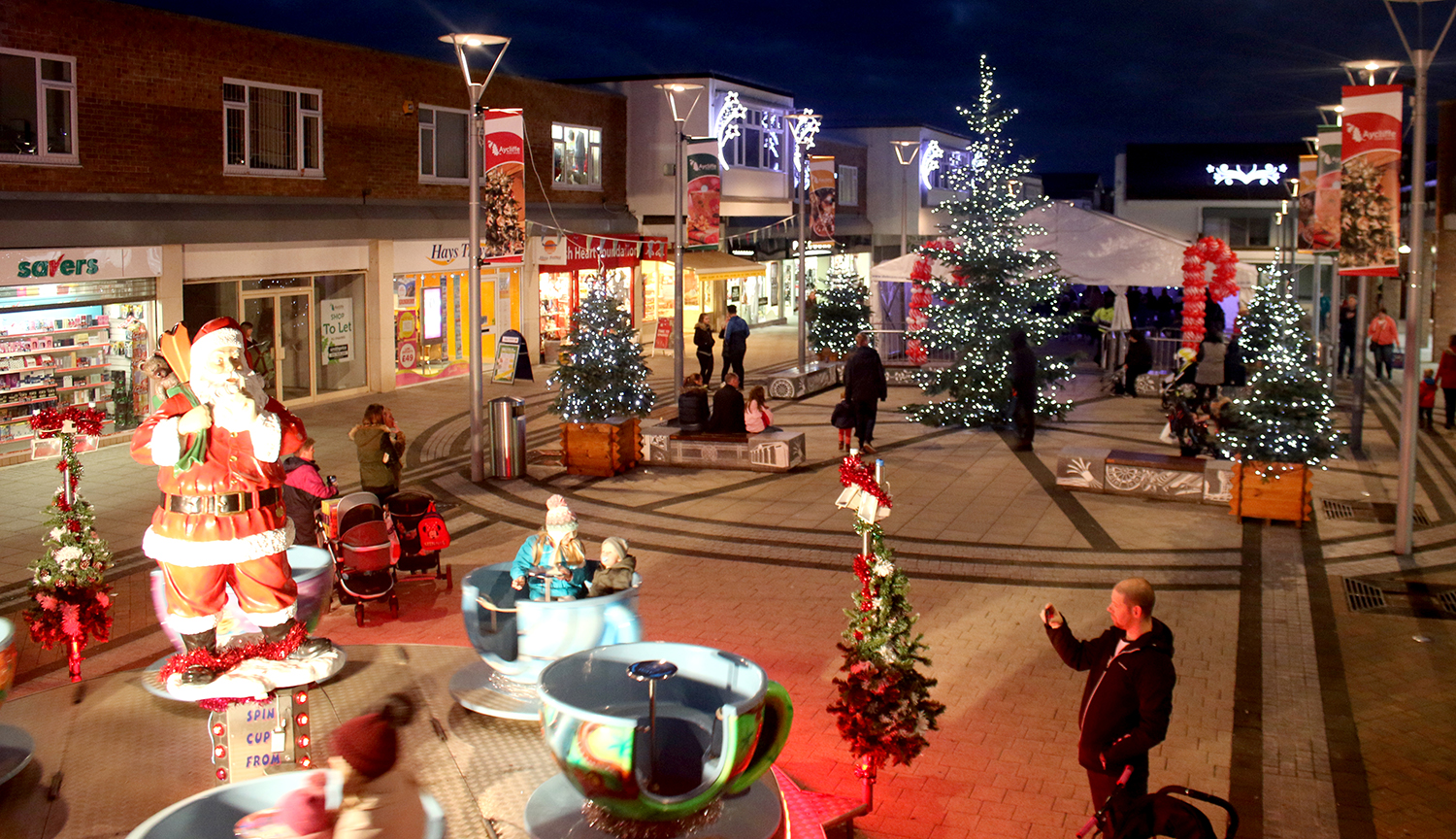 Pre-Christmas Fun in Aycliffe Town Centre