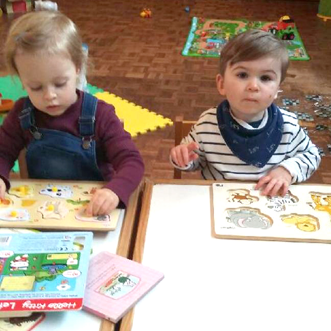 Toddlers Group Re-opens at St. Clare's Hall