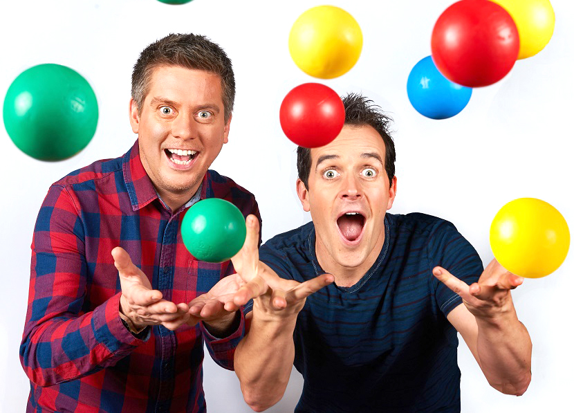 Win a Birthday Party with Dick & Dom
