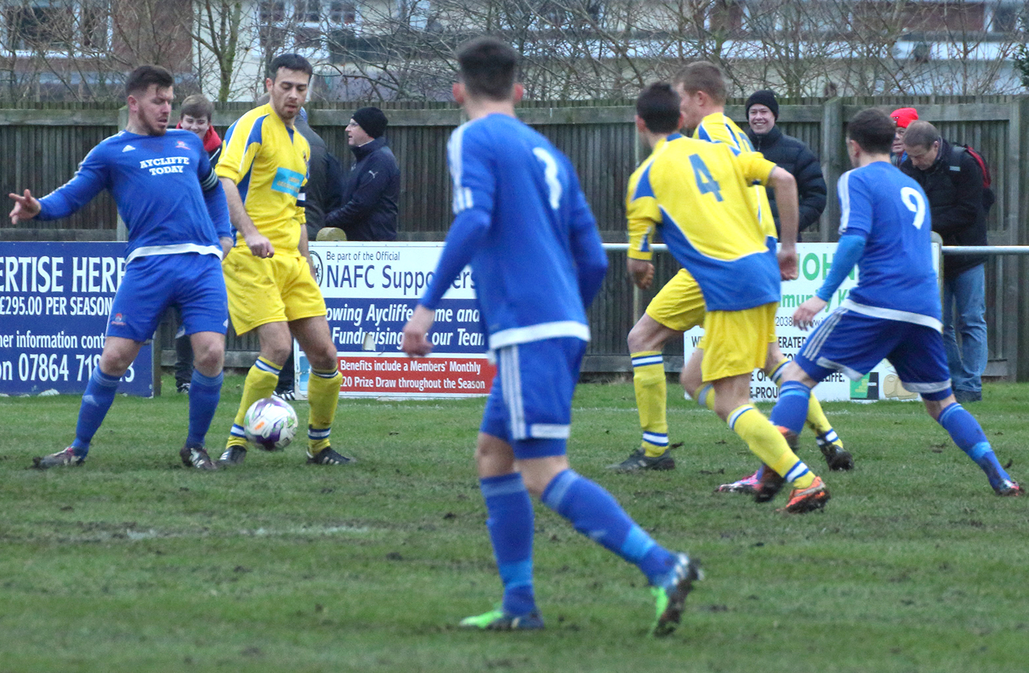Aycliffe FC in Good Form