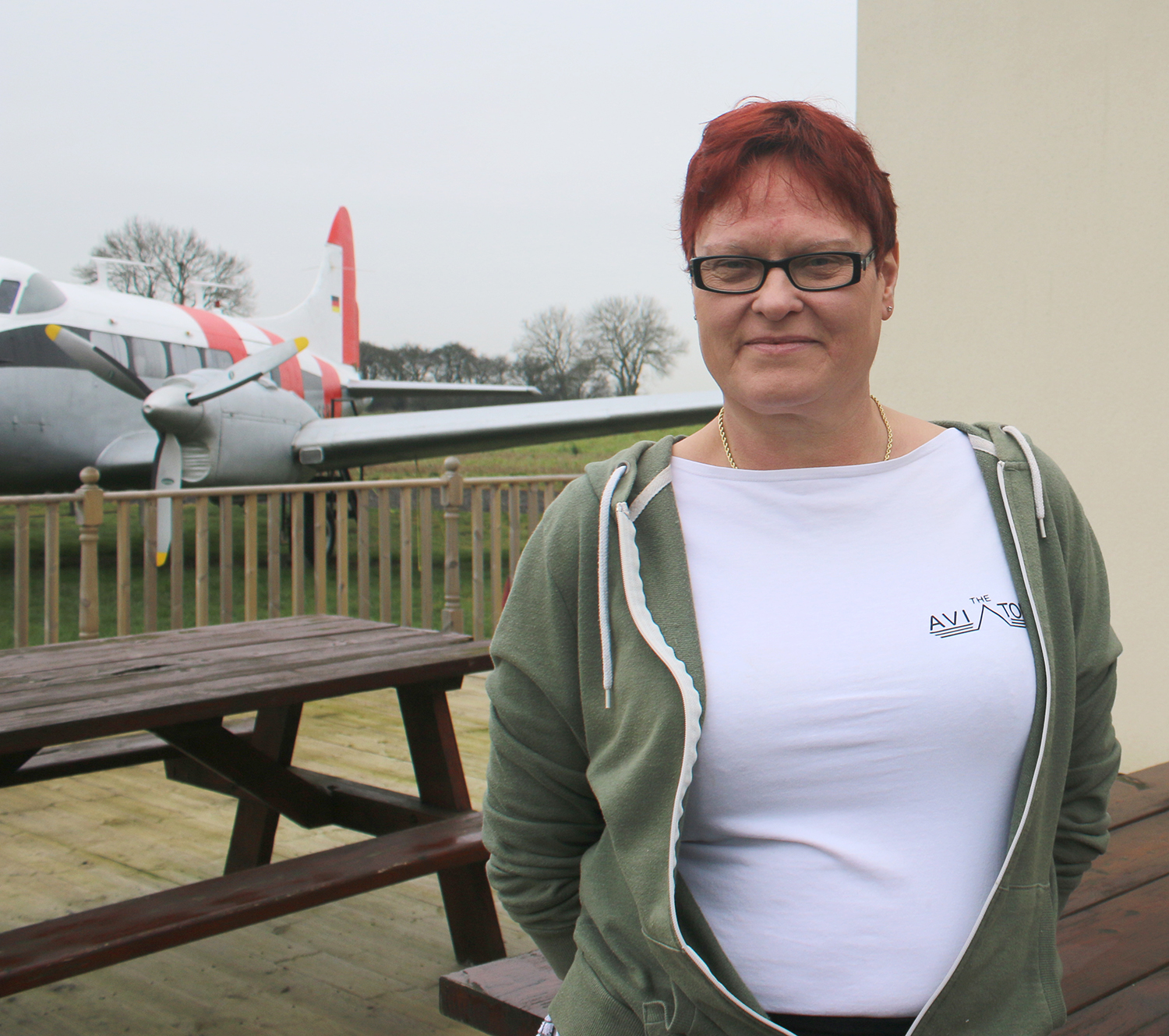 Newtonian Opens Cafe at Fishburn Airfield
