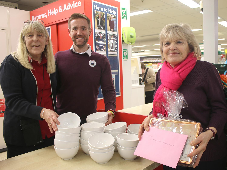 Tesco Donate Soup Bowls