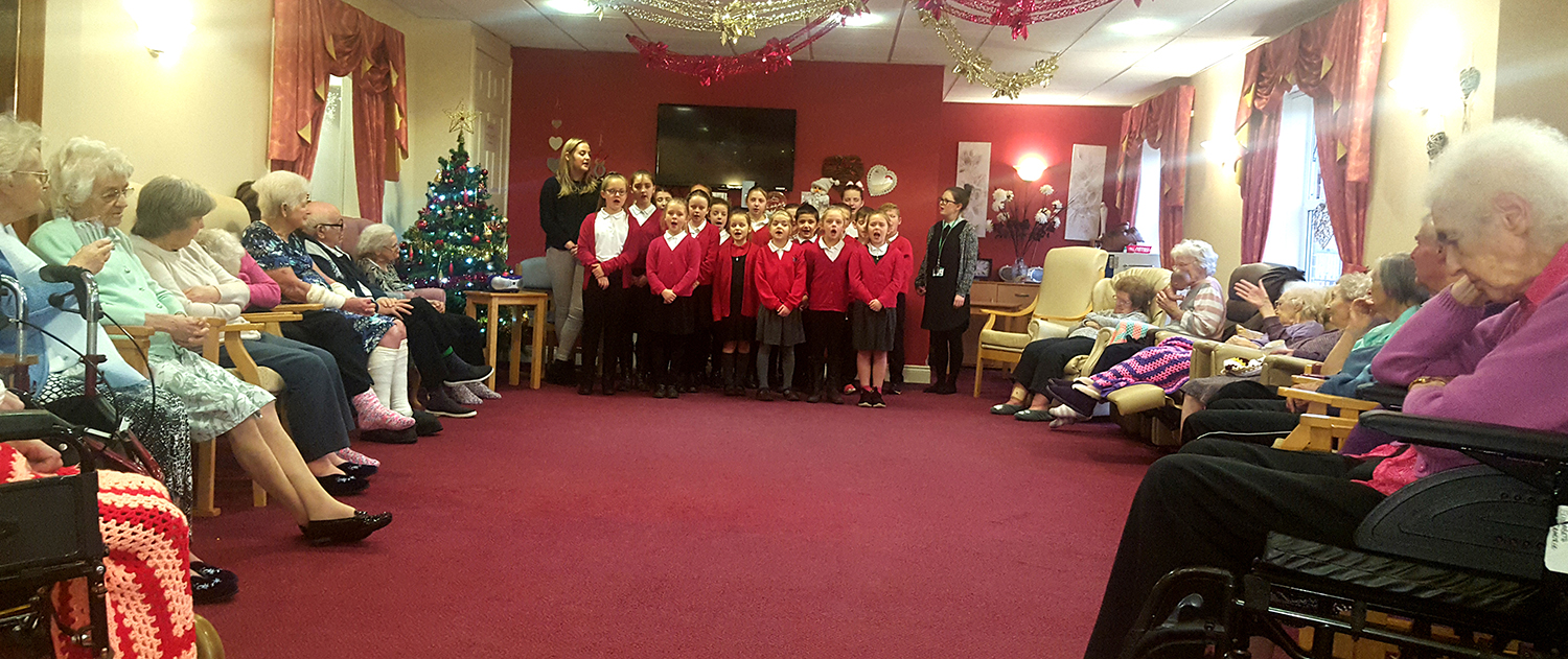 Carols by Schoolchildren