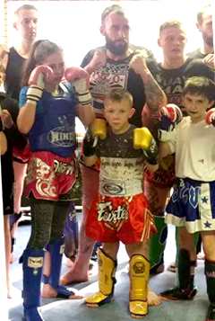 Aycliffe Thai Boxers in Championships Trials