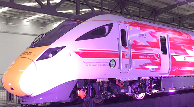 Hitachi Bids for £2.75bn HS2 Contract