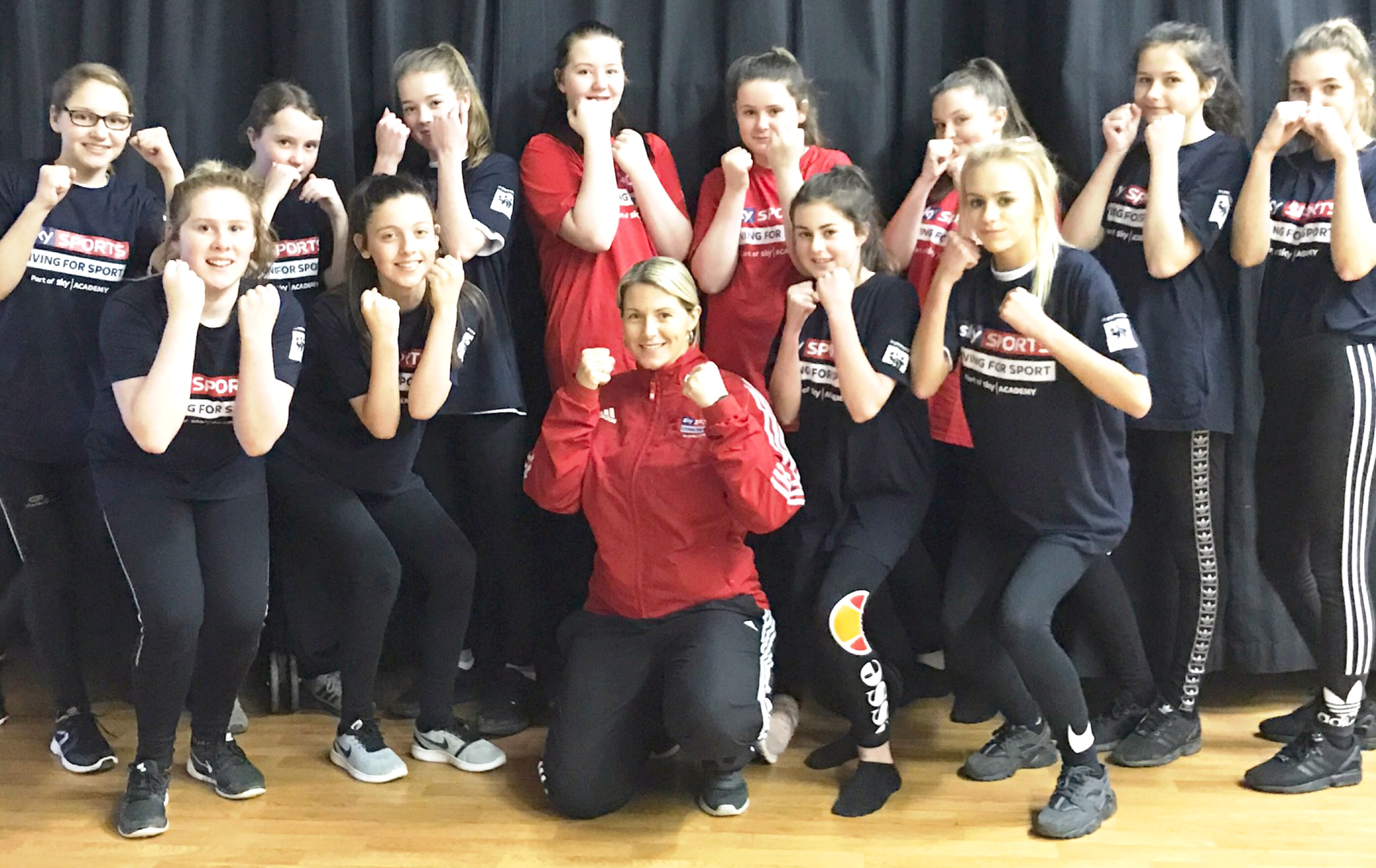 Woodham Studnets Team up With G.B. Coach