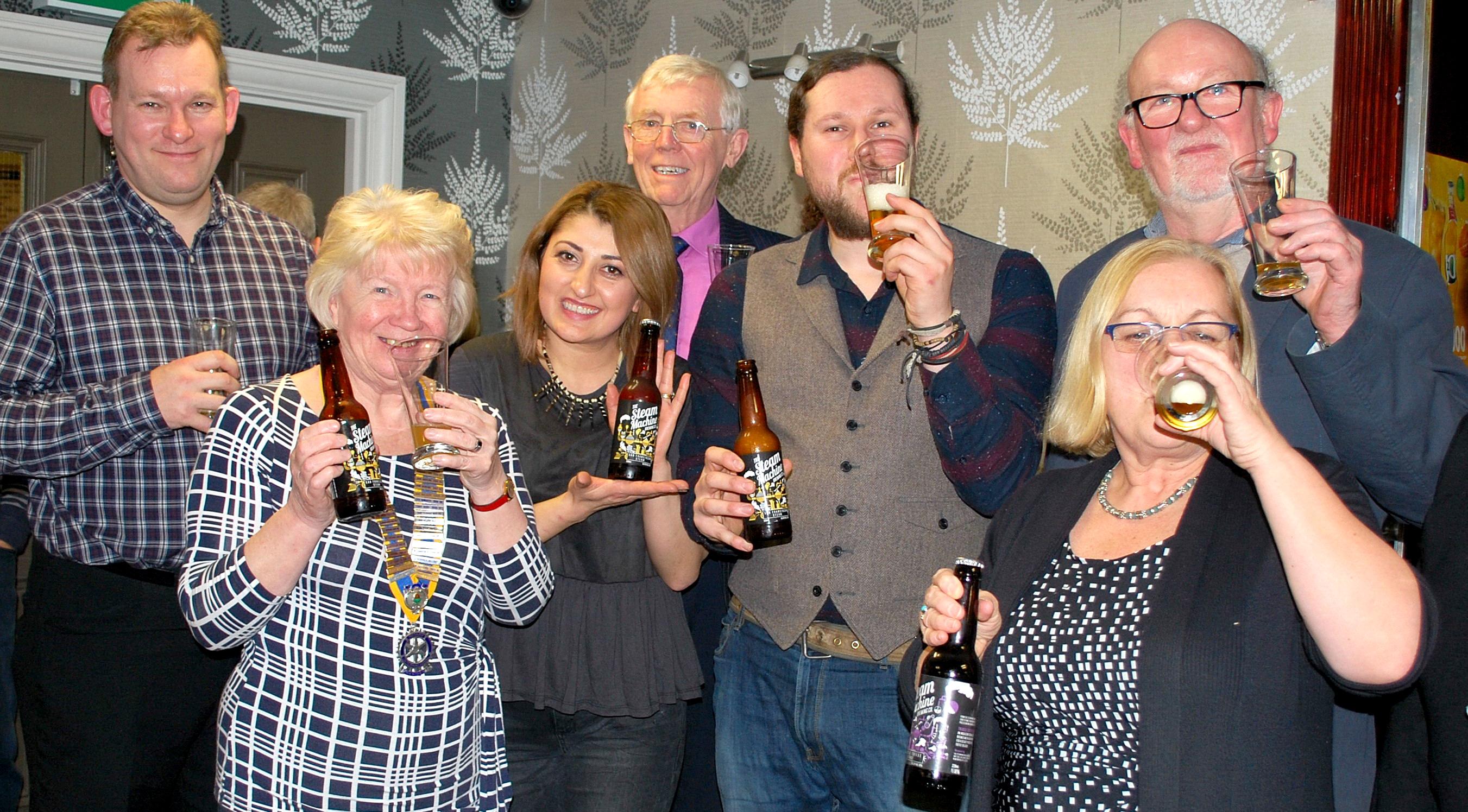 Rotary Club Enjoys Boozy Meeting