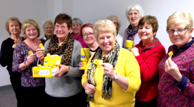 Marie Curie Group Celebrate 3rd Birthday