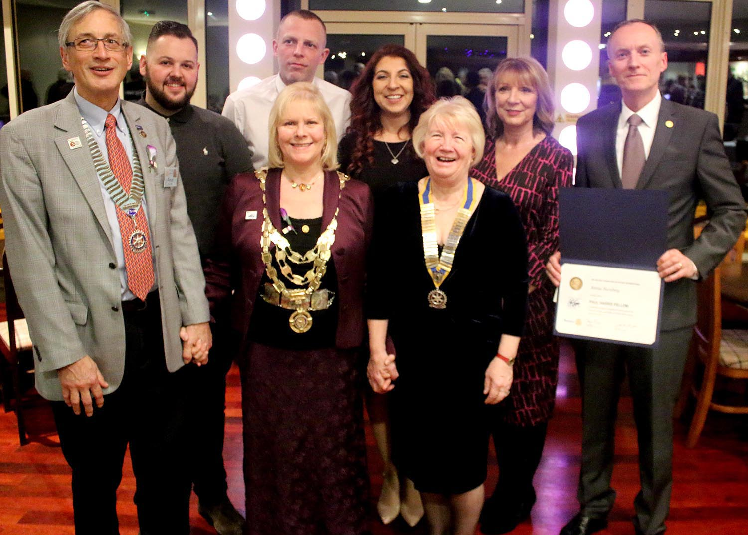 Rotary Honour for Cancer Campaigner Anna Swabey