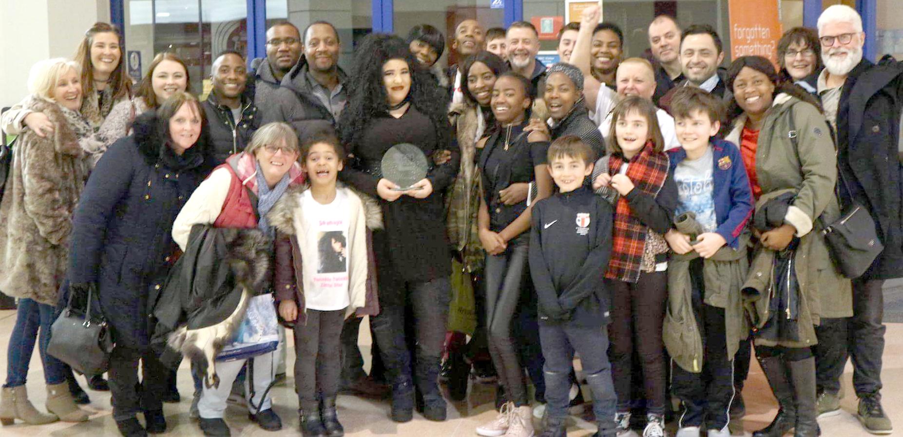 Shanaya Brings National Singing Trophy Home
