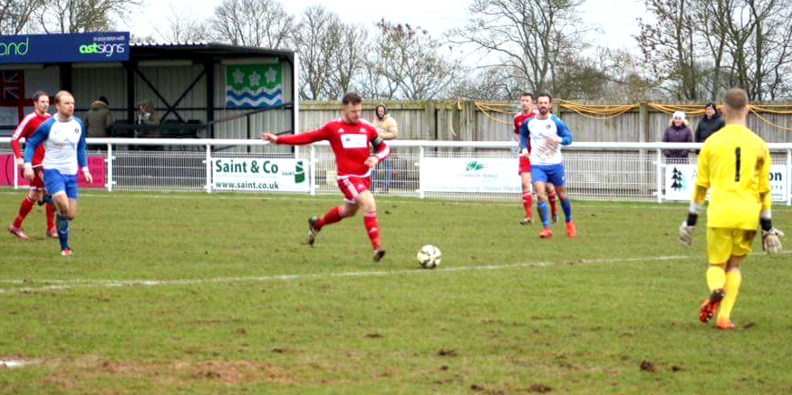 Owens' Hat-Trick Earns Aycliffe F.C. The Points