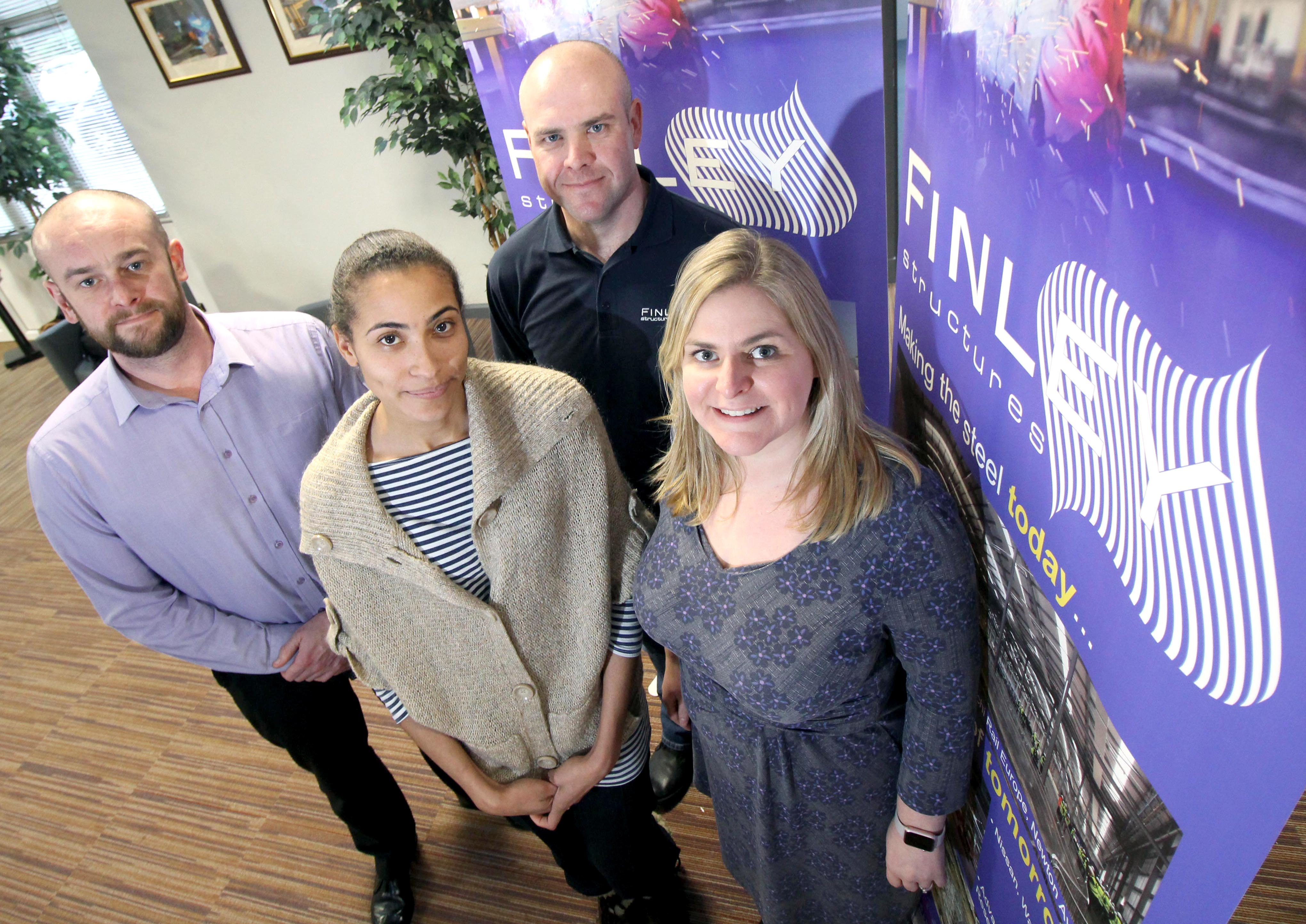 New Recruits & Promotions at Finley Structures