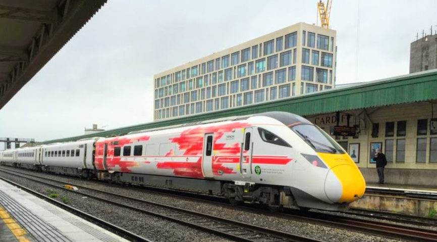 New Intercity Express Train Completes Maiden Wales Test Journey