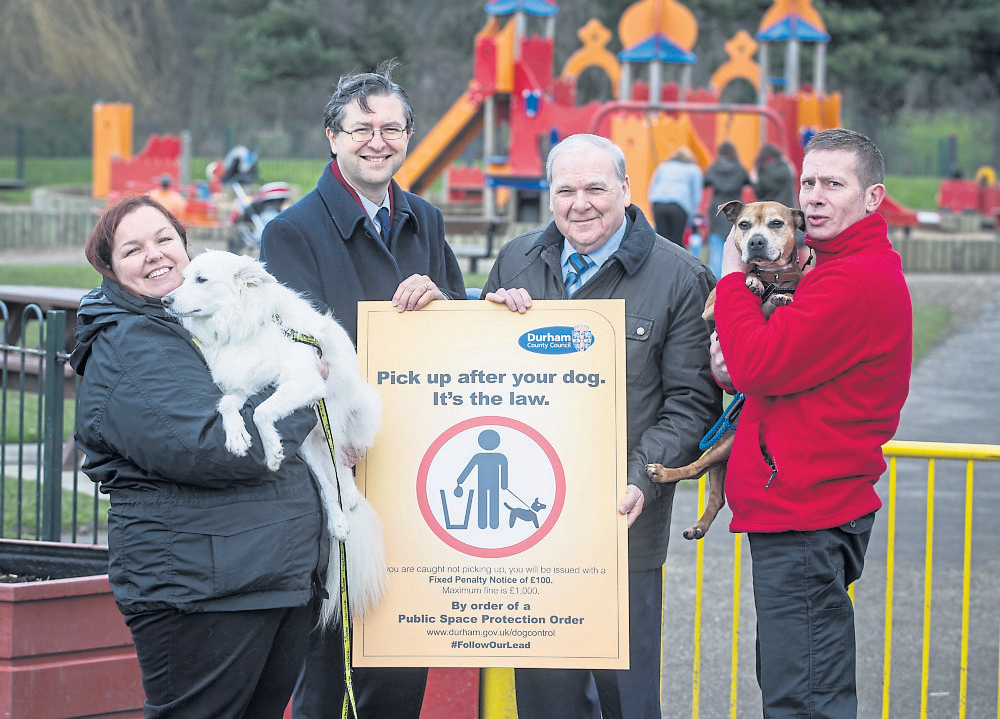 Great Support for New Dog Control Plans