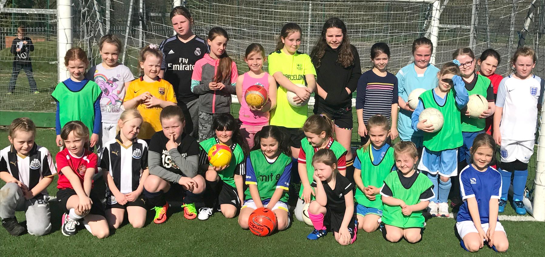 Lift Off for Girls Football