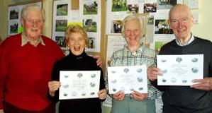 Awards for Volunteer Village Litter Pickers