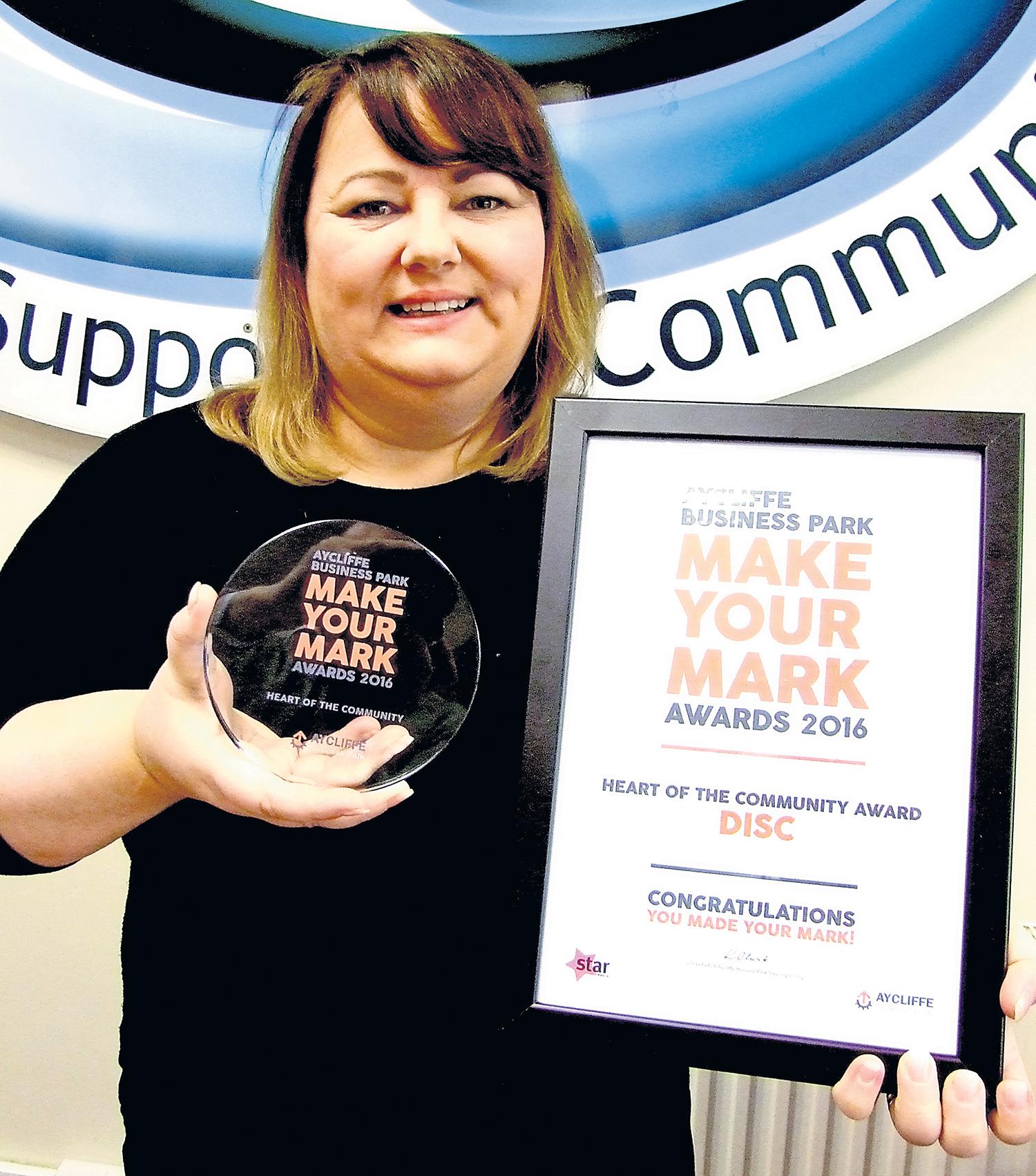 DISC Win Heart of Community Award