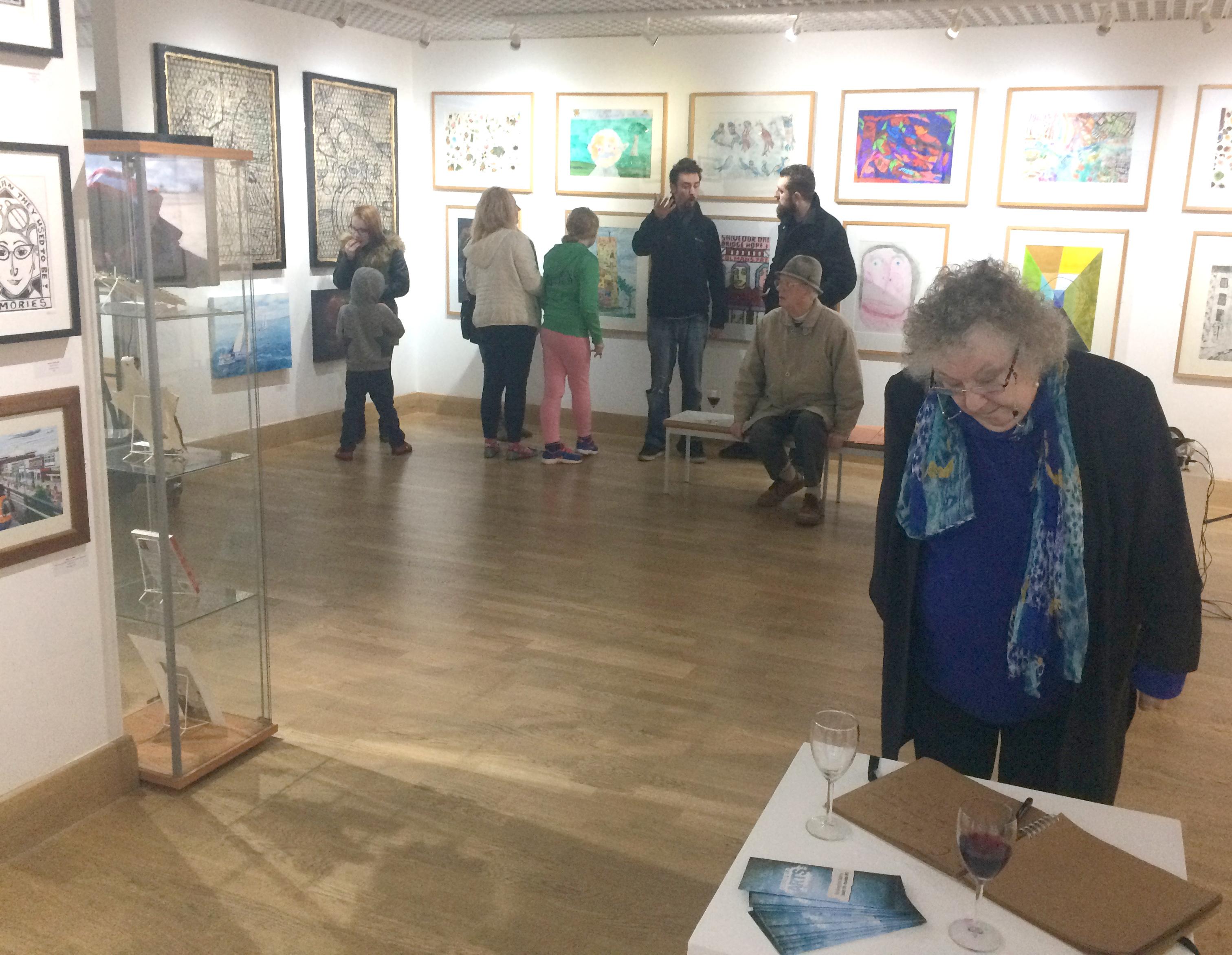 Open Art Exhibition Showcase & Workshops