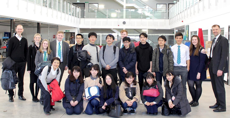 Japanese Students Visit UTC