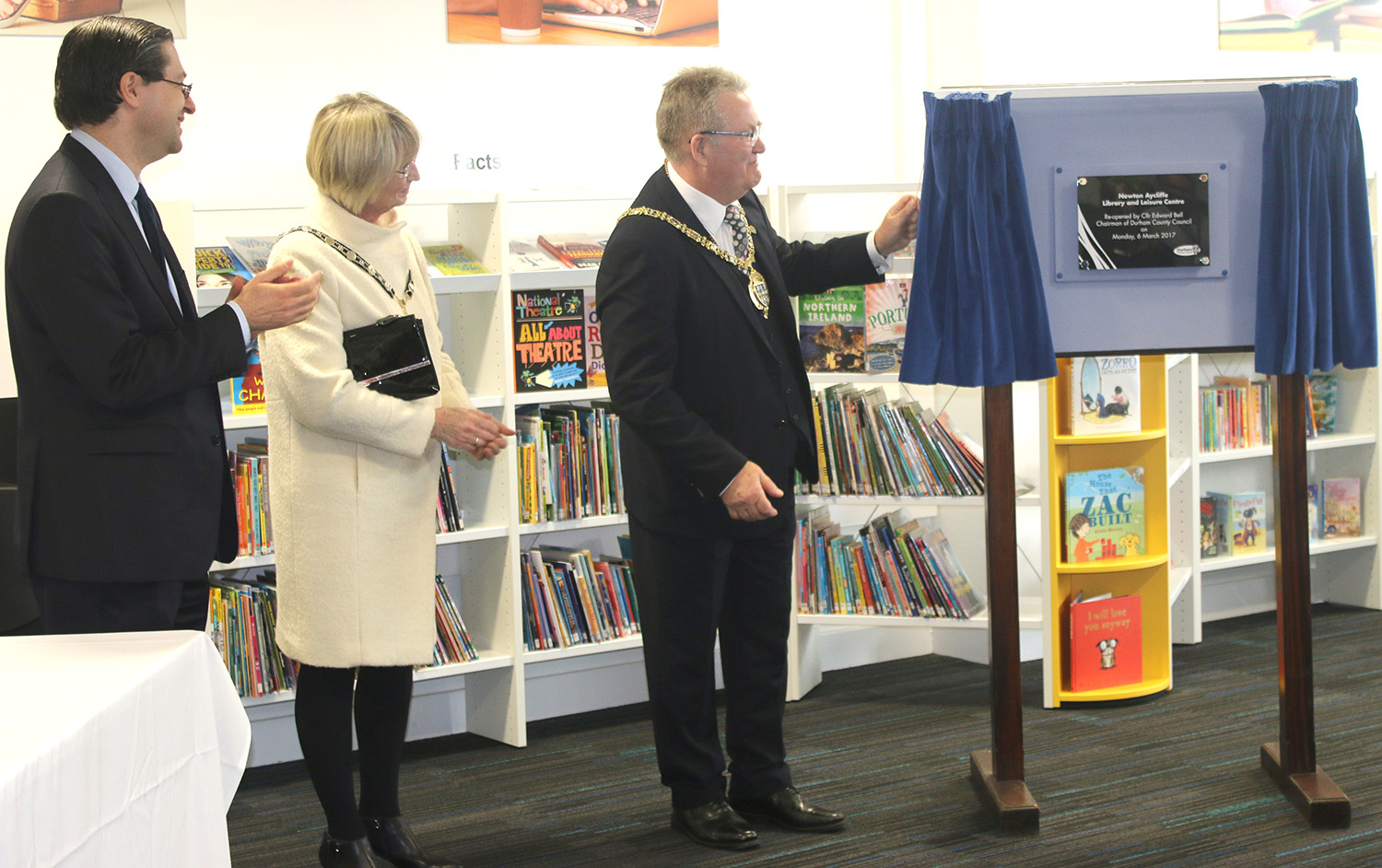 Official Opening of Library