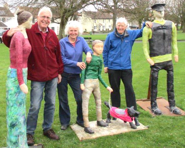 Sculpture Family Returns