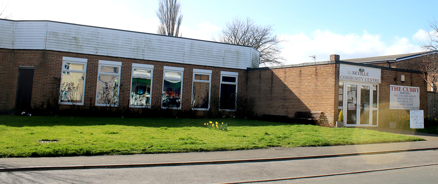 RESIDENTS' ASSOCIATION FOR NEVILLE PARADE AREA- Community Centre Offers H.Q.