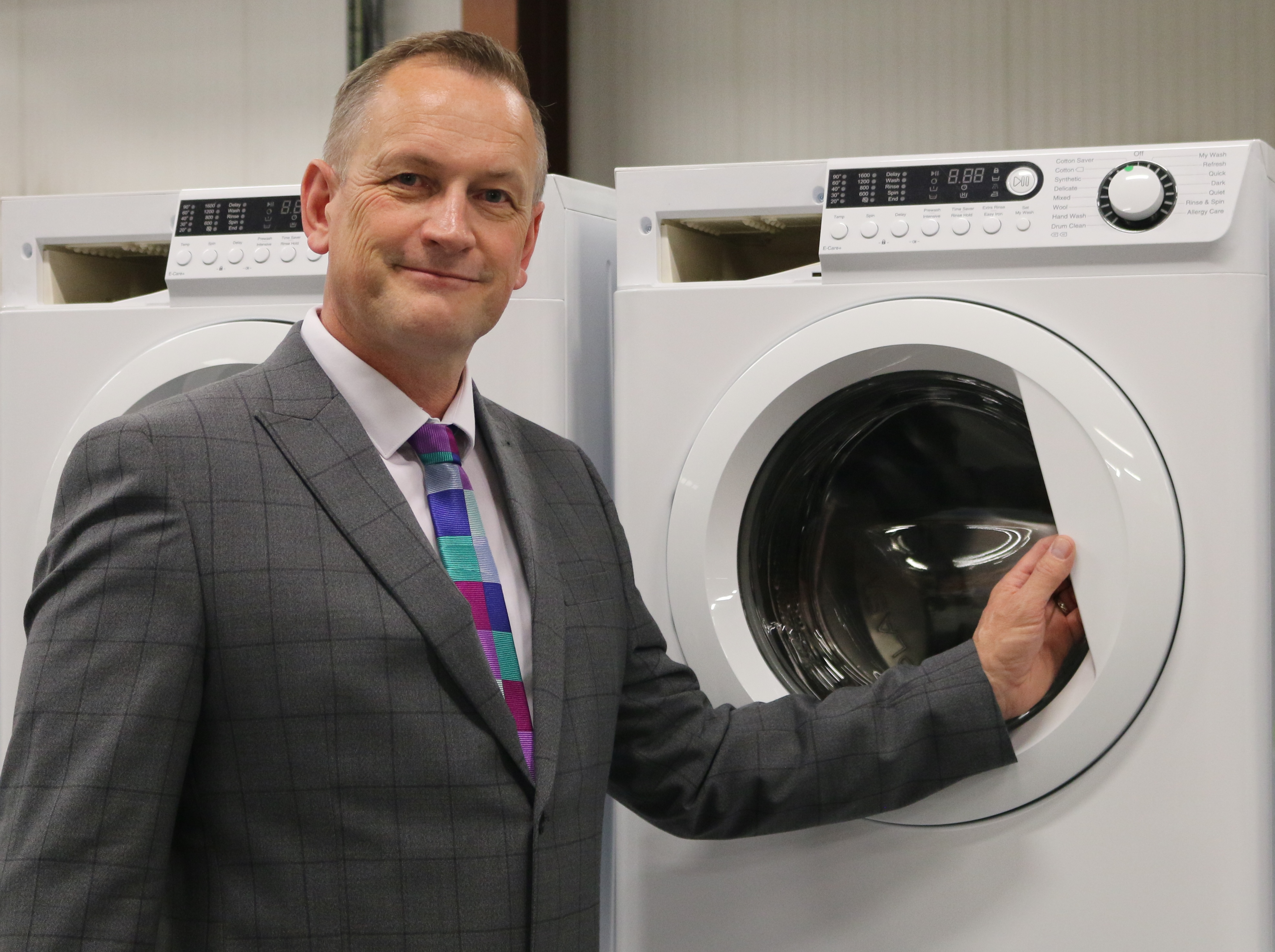 Ebac Expands Washing Machine Sales to Midlands with Key Appointment