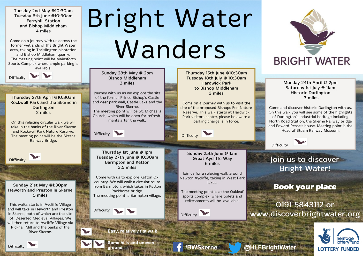 Bright Water Wanders – Guided Walks