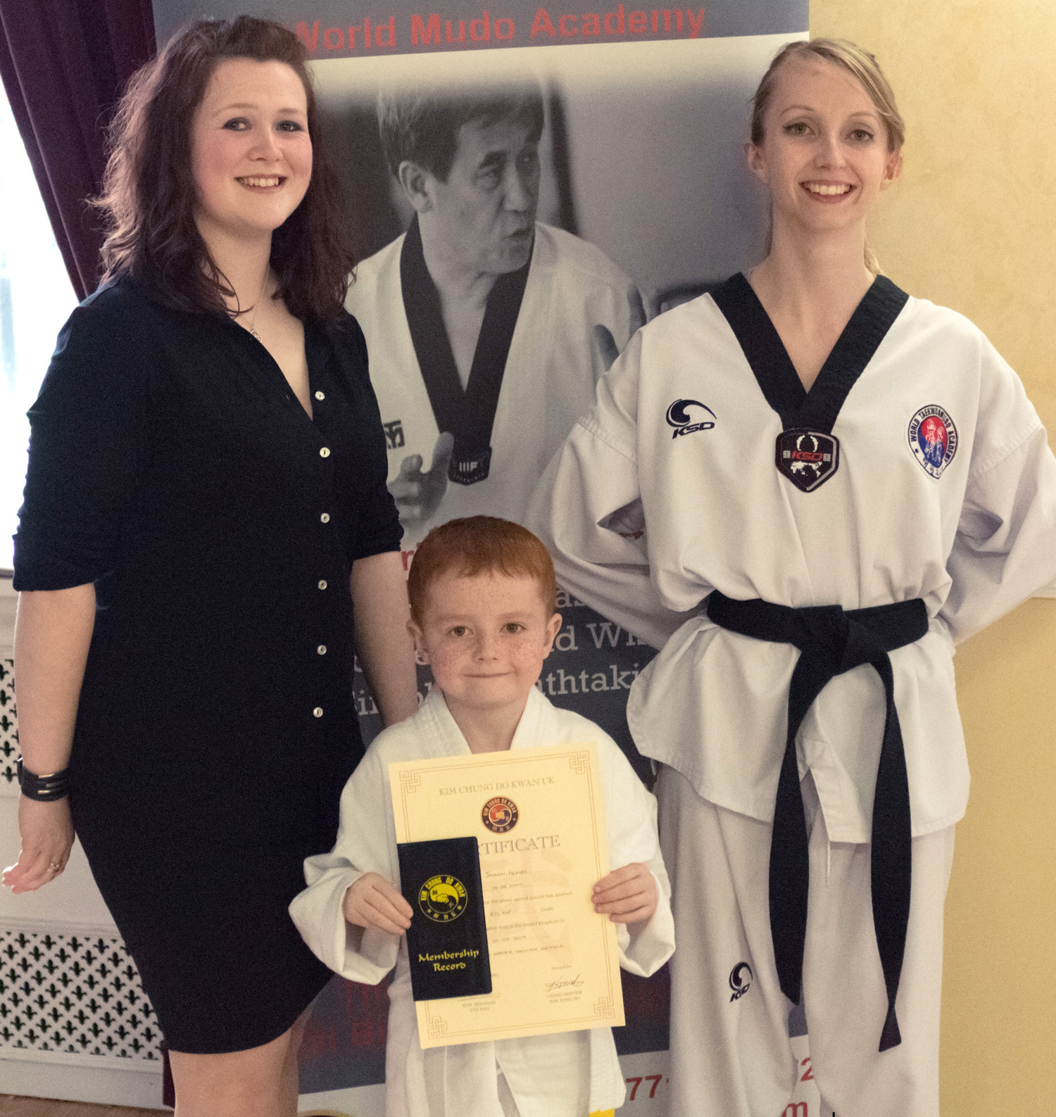 First Martial Art Grade For Jayden (8)