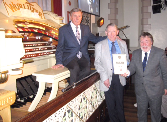 Masonic Grant For Mighty Wurlitzer