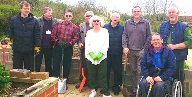 MP Visits Community Garden