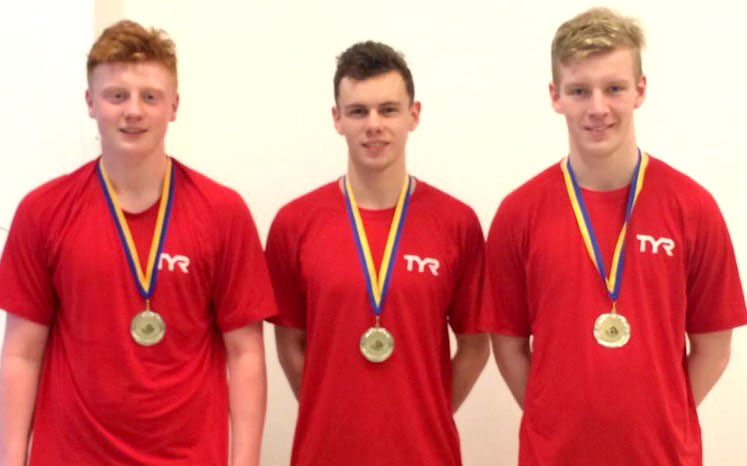 Local Polo Swimmers Play for England