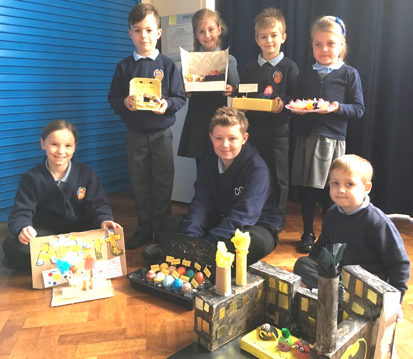 Aycliffe Village School Easter Egg Competition