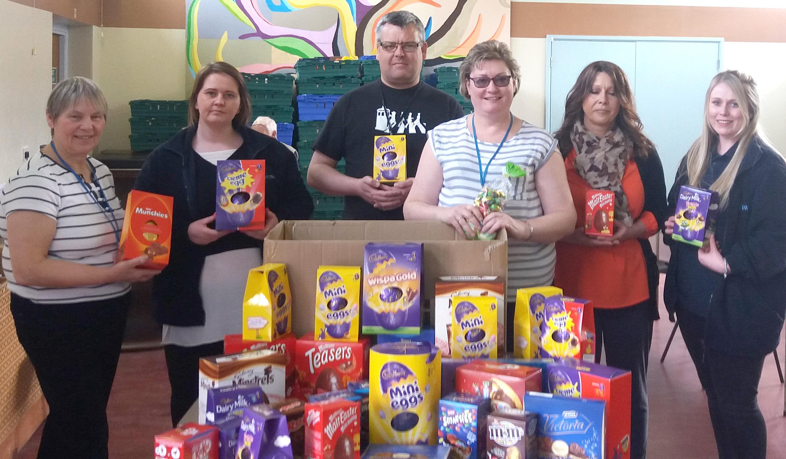 Aycliffe Company Help Town Foodbank