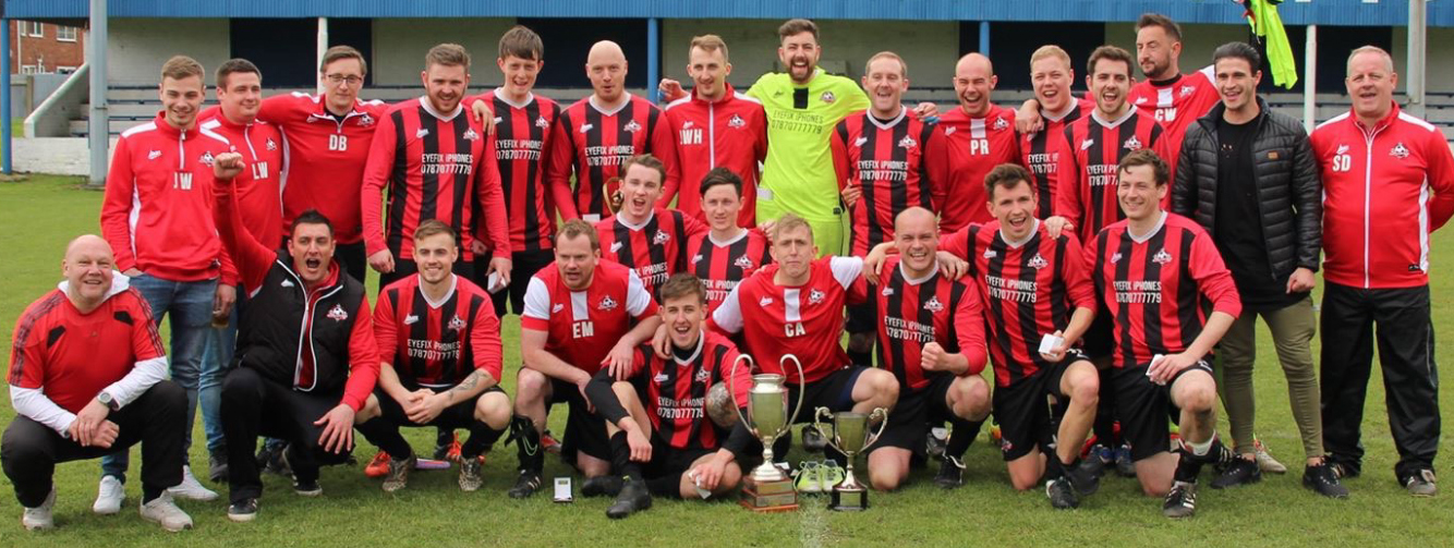 New Management at Heighington F.C. Win League & Cup Double
