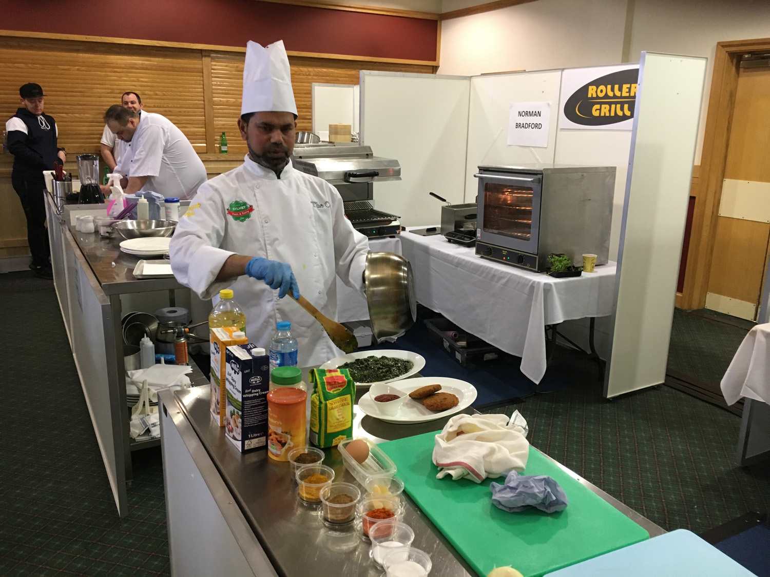 Local Chef Runner Up in North East Competition